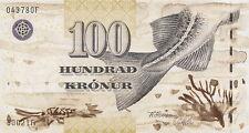 Färöer Inseln / Faeroe Islands 100 Kronen (20)02 Pick 25 (1)