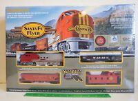BACHMANN - SANTA FE FLYER - Complete Electric HO Scale Train Set - Model # 00647