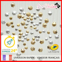 💅 NAIL ART - 10 PCS COQUILLAGE OCEAN - MANUCURE DECO ONGLES