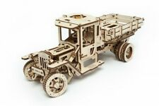 UGears Truck Safe Mechanical Wooden Self-Propelled Model Kit DIY 3D Puzzle