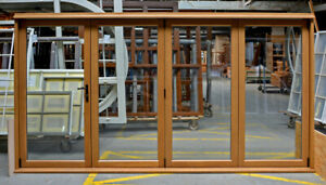 BRAND NEW Bespoke Timber Folding Bifold Doors ANY SIZE Double Glazed
