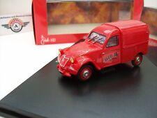 """Citroen 2CV AZ """"Pompiers"""", Rot, 1955, Norev 1:43, OVP"""