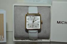 Michael Kors Womens MK2677 Watch Brenner White Leather 31mmx31mm