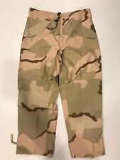 Mens Cold Weather Gore Tex Pants Desert Camo US Military Medium Reg Worn Once!
