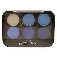 Laval Eyeshadow Palette Blue 9g 6 Colour Eyeshadow Palette