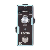 ENO REVERB GUITAR EFFECT PEDAL TRUE BYPASS COOL USA STOCK