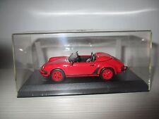 PORSCHE 911 CARRERA SPEEDSTER 1988  DE AGOSTINI SCALA 1:43