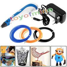Impression 3D stéréoscopiques Artisanat Pen Dessin imprimante+3 Filaments EUplug