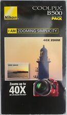 Nikon COOLPIX B500 16 MP Digital Camera Red NEW Sealed Accessories