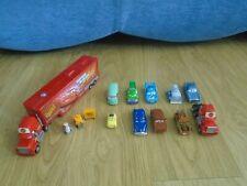 Disney Pixar Cars Bundle Mack Truck Bachelor Pad & Diecast Cars