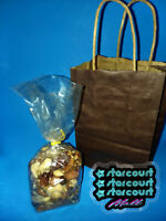 Stranger Things 3 Starcourt Mall Nut Shack Gift Bag and Nuts Prop RARE!
