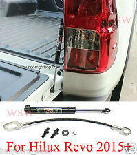 Tailgate Shock Rear Strut Slow Down Fit 2015+ Toyota Hilux Revo M70 M80 2 4 Door