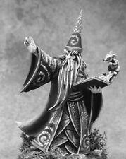 DARIUS THE BLUE - PATHFINDER REAPER miniature jdr rpg d&d wizard mage 01606 OOP