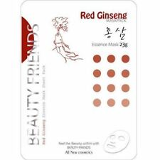 "Vanedo Beauty Friends Red Ginseng Korean Facial Mask Sheet 23g 10pcs ""US SELLER"""