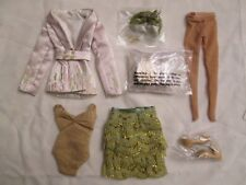 """Clea Bella 16"""" Fashion Doll Outfit Rain Collection 200 Made Embroidered Jacket"""