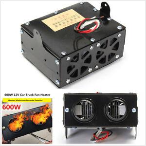 12V 600W Car Fan Heater Heating Warmer Windscreen Defroster Demister For Winter