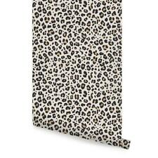 Animal Print Leopard Wallpaper - Peel and Stick