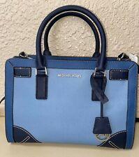 Blue Leather Micheal Kors Large Handbag LOC30