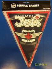 Winnipeg Jets NHL Pro Hockey Sports Banquet Party Decoration Pennant Flag Banner
