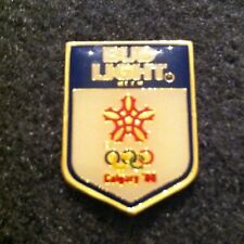 Rare Olympic Pin! Bud Light Beer - 1988 Calgary - Excellent cond.