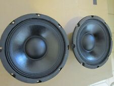 """NEW (2) 8"""" Woofer Replacement Speakers PAIR.Guitar.8 ohm.PA.Pro Audio.Bass"""