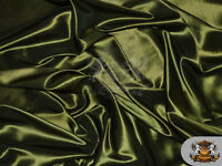 "Taffeta Solid Fabric OLIVE / 58"" Wide / Sold by the yard"
