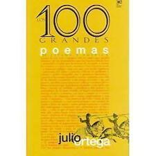 100 Grandes Poemas de Espana y America by Julio Ortega (2000, Hardcover)