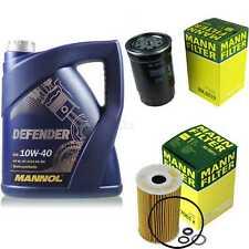 Motor-Öl 5L MANNOL Defender 10W-40 +MANN-FILTER KIA Soul AM 1.6 CRDi 115