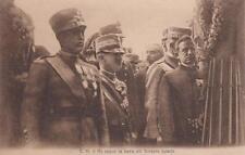 C903) WW1, IL RE SEGUE LA BARA DEL SOLDATO IGNOTO.
