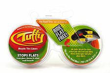 MR TUFFY ANTI-FLAT TIRE LINER FRONT AND REAR 700x20-25 ORANGE, PAIR