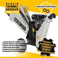 Lumag Benzin Häcksler Rambo HC10PRO Holzhäcksler Schredder Motorhäcksler 4,4kW