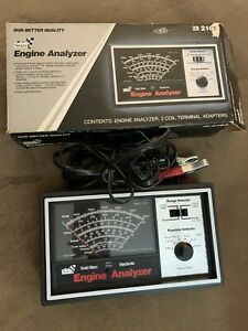 VINTAGE SEARS Solid State Electronic Engine Analyzer Model 161.216300 w/ Box