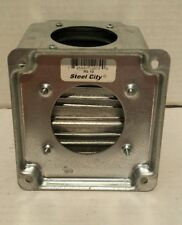 """Lot of 10 New Steel City RS-13 4""""×4"""" Outlet Covers"""