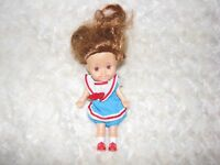 Vintage Sweetie Pops 1986 Playskool Vintage 80s doll Auburn Sailor Dress