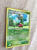 Pokemon Karte Roserade Lv. 33 13/130 Holo Rare Card