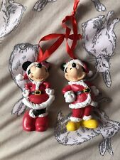 Mickey Mouse And Minnie Christmas Decoration Holiday Bauble Disney