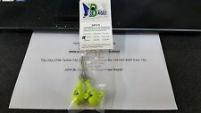 1 Pack Joe Baggs SPJ 7/0 Jigs BARE CHARTREUSE 1 1/2oz DISCOUNTS FOR 2 OR MORE