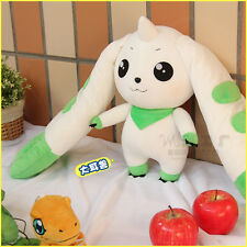 "Cute Digital Monster Digimon Adventure 18"" Terriermon Plush Toy Stuffed Doll"