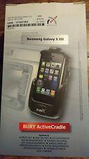 Bury S8 System 8 Take & Talk Bluetooth Car Cradle for Samsung Galaxy S III 3 S3