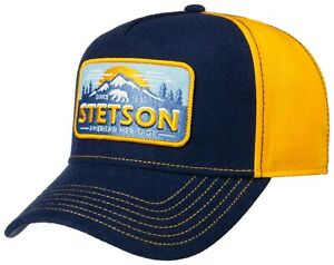Stetson Trucker Cap Baseball Snap Cap Polar Bear 29 New Trend