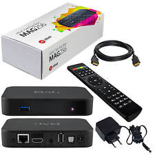MAG 256 Original IPTV Streamer SET TOP BOX Multimedia Internet TV Konsole USB HD