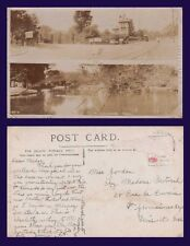 UK SUSSEX, TWO VIEWS HASTINGS ALEXANDRA PARK & ST HELENS ROAD REAL PHOTO XL ART