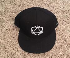 Odesza Black Flat Bill Cap Hat