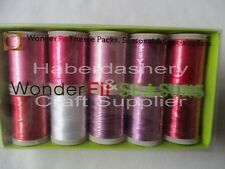 WONDERFIL EMBROIDERY THREAD *THEME* VALENTINES KISSES ASSORTED COLORS