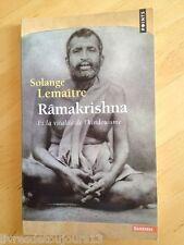 Râmakrishna Et La Vitalité De L'hindouisme - Solange Lemaitre