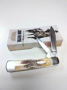CASE XX #10707 JOHN WAYNE 6.5 BONESTAG GUNSTOCK KNIFE (6.52130 SS)
