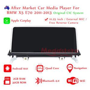 10.25 Android 10.0 car raido stereo gps Head Unit For BMW X5 E70 2011-2013 CIC