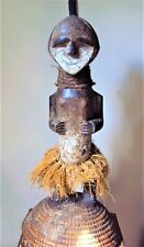 """Was $429 Rare 23"""" Ambete Power Female Woman African Carving Statue!"""