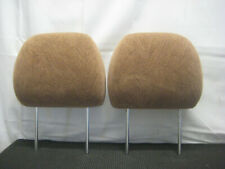 2002-2004 ISUZU AXIOM OEM FRONT OR REAR SEAT HEAD RESTS HEADRESTS CLOTH PAIR TAN