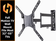 "Full Motion TV Wall Mount Fits Most 32 - 55""  Flat Screen Samsung Vizio Sony"
